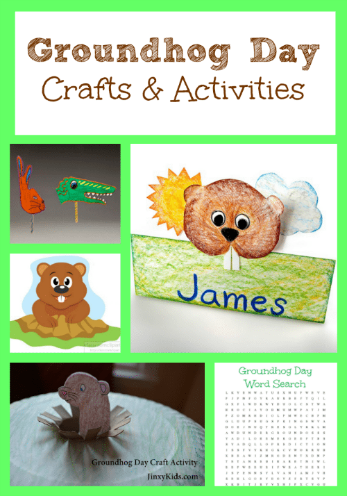 Use these these fun Groundhog Day craft and activity ideas to keep the little ones occupied and help them learn a bit about the legend of the groundhog.