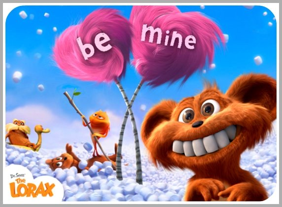 Free Printable Lorax Valentines