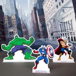 FREE Printable Marvel Avengers Playset From Disney