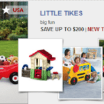 Save Up to $200 on Little Tikes Toys – Ends Friday!