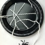 Halloween Craft Fun: Make a Paper Plate Spiderweb