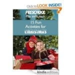 FREE Preschool Play and Learn: 15 Fun Activities for Christmas eBook