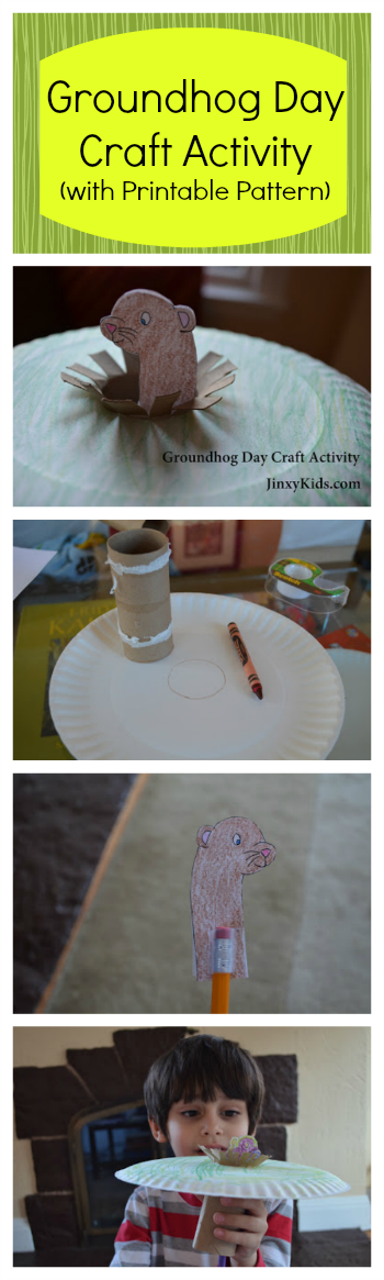 Groundhog Day Craft Activity P