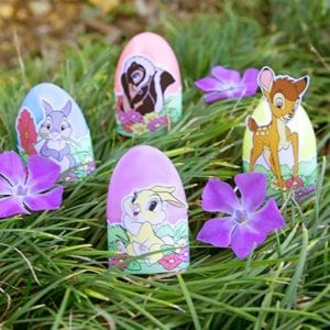 FREE Printable Bambi and Friends Easter Egg Wrappers