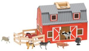 Amazon: Melissa & Doug Fold 'n Go Barn only $29.98 Shipped! (reg $50)