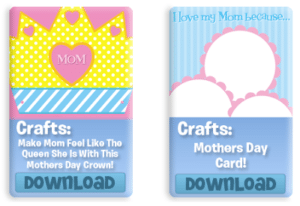 FREE Mother's Day Printables from VeggieTales