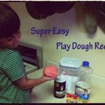 Super Easy Play Dough Recipe – Flour, Salt, Oil & Water