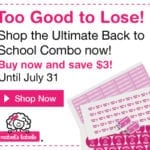 $3 Off Mabel's Labels Ultimate Back to School Combo + FREE Shipping!