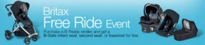 Amazon Britax Free Ride Event – Get a FREE Car Seat or Bassinet with Stroller Purchase