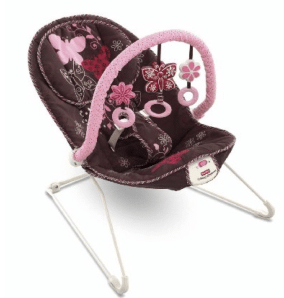 Walmart.com: Fisher Price Pink and Brown Infant Bouncer only $19 Shipped! (reg $34)