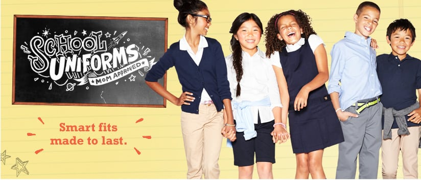 Old navy school uniforms starting at 5 jinxy kids for Old navy school shirts
