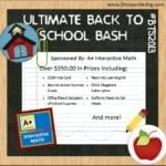 Ultimate Back to School Bash – Huge $350 Reader Giveaway!