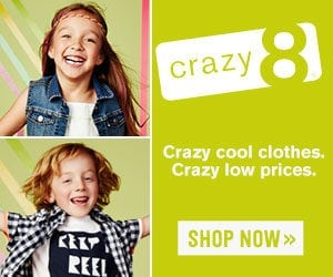 40% Off Everything for Baby at Crazy 8