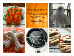 Kid Friendly Halloween crafts reciipes