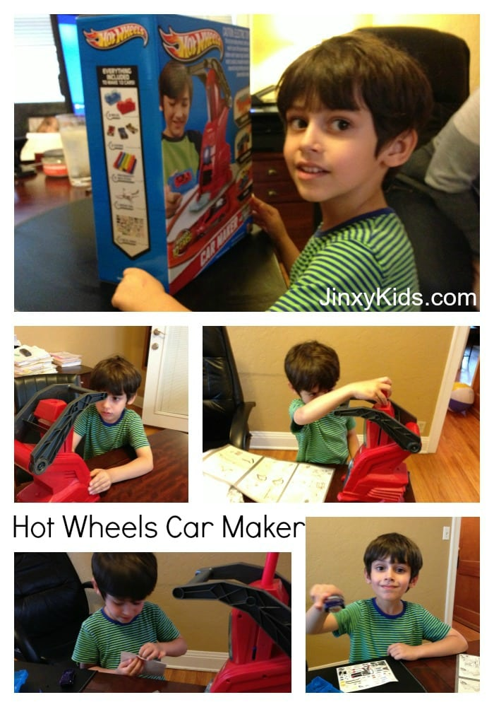 Hot Wheels Car Maker Collage 1