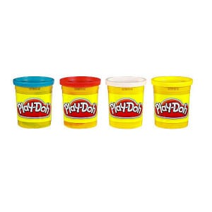 Play-Doh 4-pack Only $1.96 with Printable Coupon