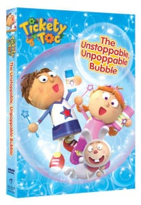 Tickety Toc The Unstoppable, Unpoppable Bubble DVD – Reader Giveaway
