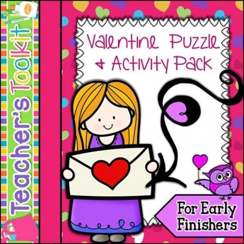 Valentine Puzzle Pack