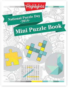 Celebrate National Puzzle Day with a FREE Pack of Puzzles Download