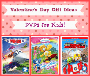 Valentines Day DVD Gift Ideas for Kids + Reader Giveaway