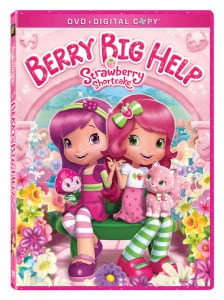 Strawberry Shortcake Berry Big Help DVD Reader Giveaway