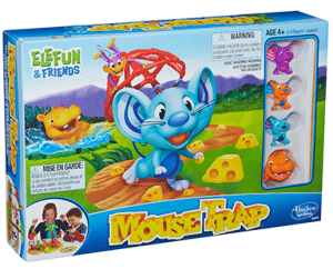 New Mouse Trap Elefun & Friends Game Review