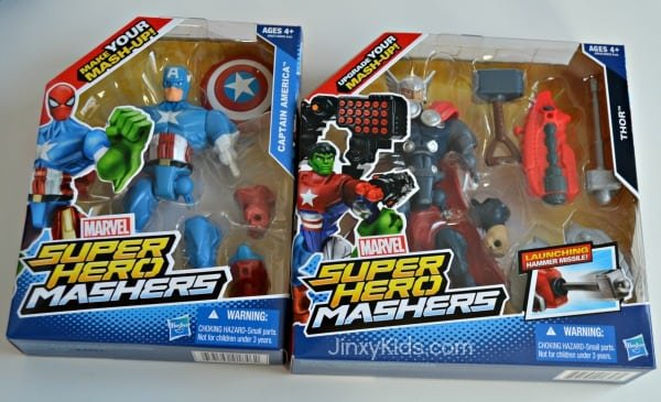 get creative with marvel super hero mashers review and reader giveaway jinxy kids. Black Bedroom Furniture Sets. Home Design Ideas