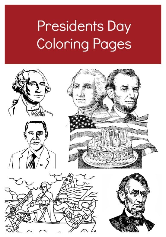Free Printable Presidents Day Coloring Pages - Jinxy Kids