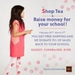 Shop Tea Collection and Raise Money for Your School – Plus $25 Off $150 Coupon Code