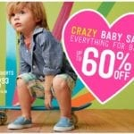 Adorable Baby and Toddler Clothing Up to 60% Off!