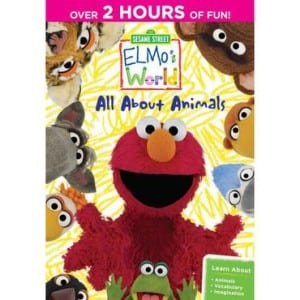 Elmo's World: All About Animals DVD Reader Giveaway