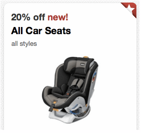 Save 20% Off ALL Car Seats from Target with Cartwheel!