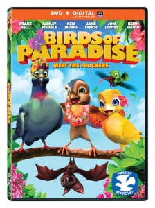 Birds of Paradise on DVD with Printable Activity Sheet and Giveaway