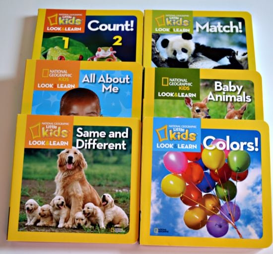 National Geographic Kids Look and Learn series
