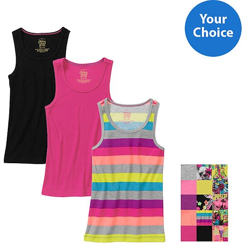 walmart girls' tanks