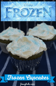 Disney Frozen Cupcakes Recipe