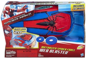 Marvel The Amazing Spider-Man 2 Motorized Spider Force Web Blaster from Hasbro – A Review