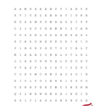Printable 4th of July Word Search Puzzle