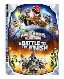 Power Rangers Megaforce: A Battle To The Finish DVD Reader Giveaway