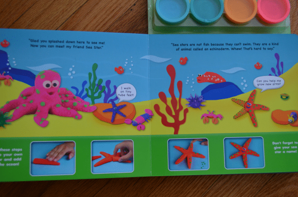 Creative Fun with New PLAY-DOH Books + Reader Giveaway - Jinxy Kids