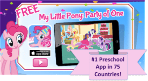 FREE My Little Pony: Party of One App through 8/7