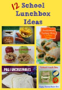 12 Fun Ideas for the School Lunchbox