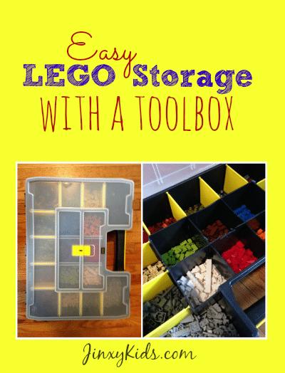 Easy LEGO Storage with a Toolbox Jinxy Kids