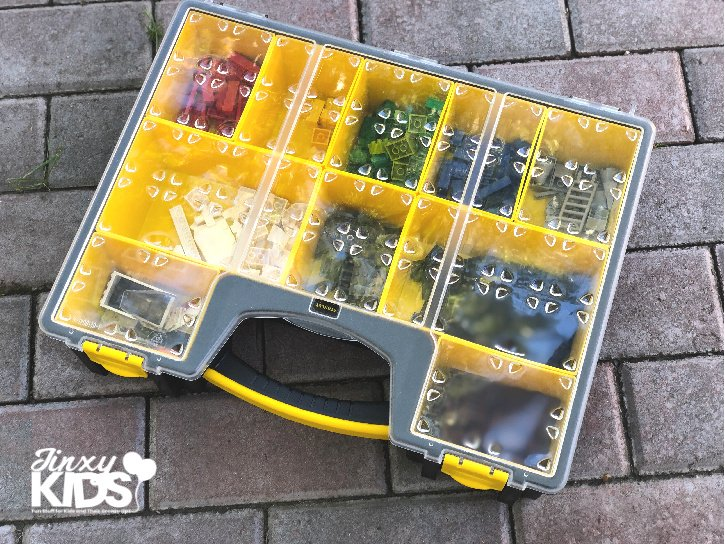 LEGO Storage in Tool Box