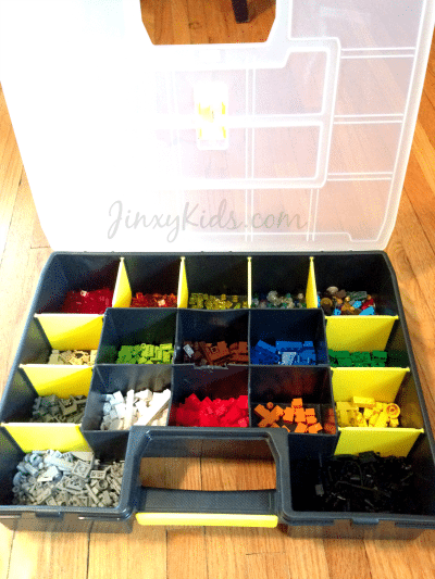 Easy LEGO Storage with a Toolbox Jinxy Kids