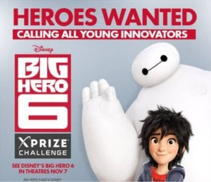 Enter Your Child for a Chance to Win a Trip to Disney's Big Hero 6 Premier in LA!