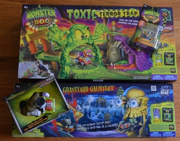 Monster 500 Vehicles and Playsets