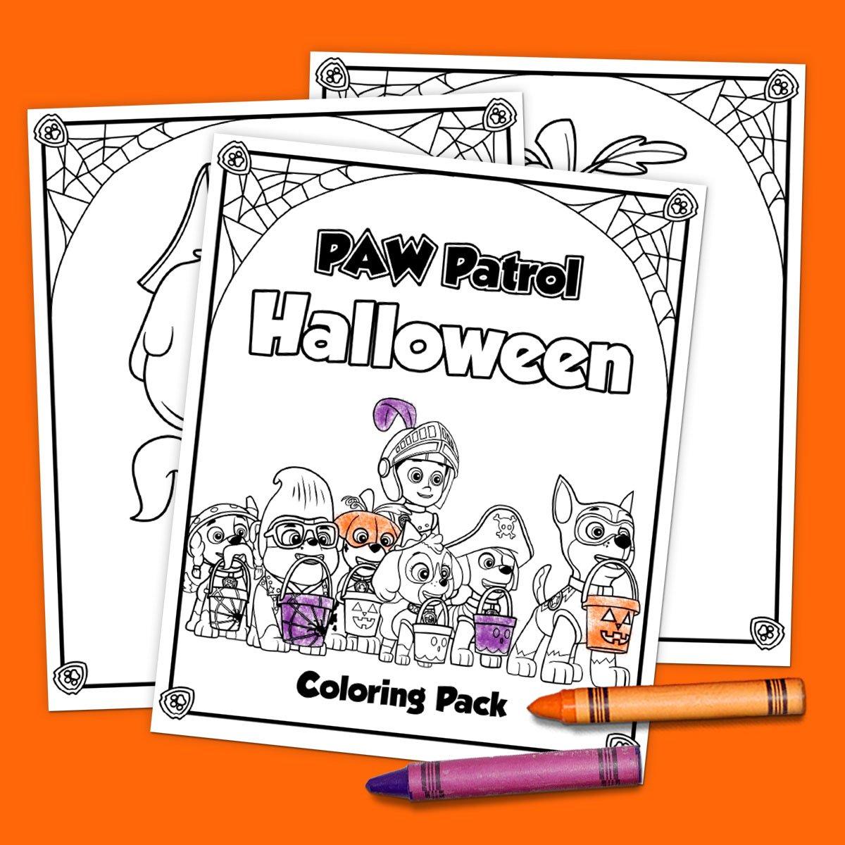 Printable PAW Patrol Halloween