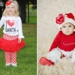 Toddler and Infant Christmas Outfits only $16.99!