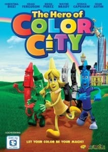 Celebrate National Crayon Day with THE HERO OF COLOR CITY